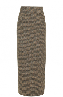 Шерстяная юбка-карандаш Walk of Shame