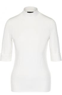 Вязаный пуловер с коротким рукавом Escada