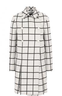 Двубортное шерстяное пальто Valentino