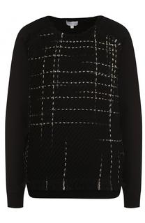 Пуловер свободного кроя с контрастной отделкой Escada Sport