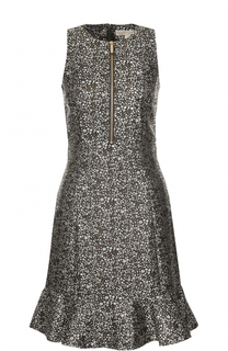 Приталенное платье с принтом MICHAEL Michael Kors