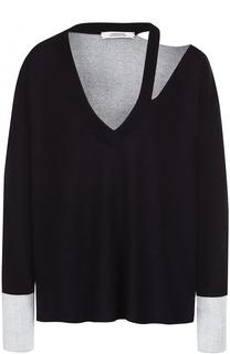 Пуловер из смеси шелка и кашемира Dorothee Schumacher