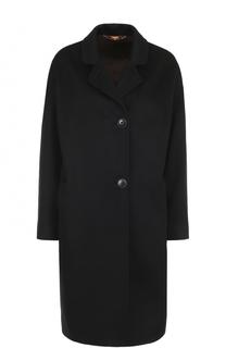 Однобортное кашемировое пальто прямого кроя Colombo
