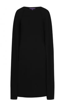 Вязаное платье из шерсти с накидкой Ralph Lauren
