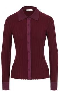 Приталенный пуловер фактурной вязки Altuzarra