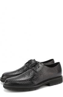 Кожаные ботинки на шнуровке Tod's Tods