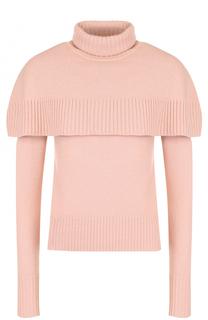 Кашемировый пуловер с декоративной отделкой Chloé