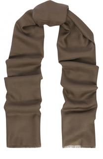 Кашемировый шарф с необработанным краем Ralph Lauren