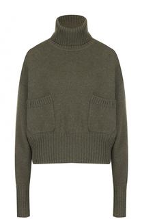Кашемировый свитер с накладными карманами Chloé