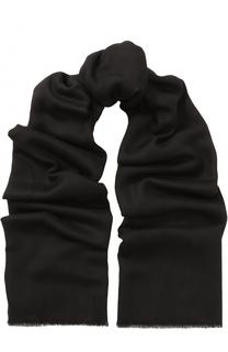 Кашемировый шарф с необработанным краем Giorgio Armani