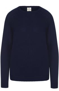 Вязаный пуловер с декоративной отделкой FTC