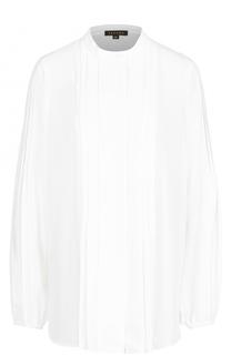 Блуза с плиссированной отделкой Escada