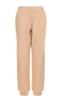 Хлопковые брюки свободного кроя с манжетами See by Chloé