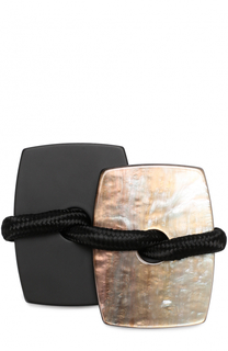 Брошь с контрастными элементами Armani Collezioni
