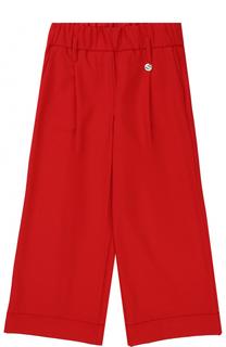 Укороченные расклешенные брюки с накладным карманом Simonetta
