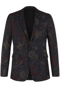 Однобортный вечерний пиджак Burberry
