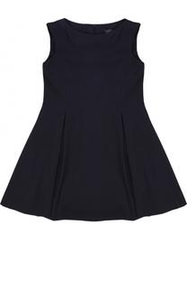 Приталенное мини-платье с защипами Dal Lago