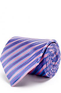 Шелковый галстук в полоску Charvet