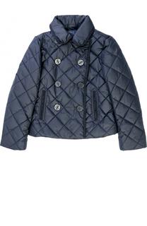 Двубортная стеганая куртка Polo Ralph Lauren