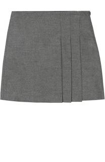 Мини-юбка со складками Il Gufo