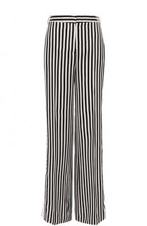 Расклешенные брюки в контрастную полоску Victoria by Victoria Beckham
