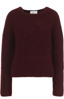 Шерстяной свитер фактурной вязки Carven