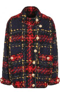 Вязаная куртка из шерсти Balmain