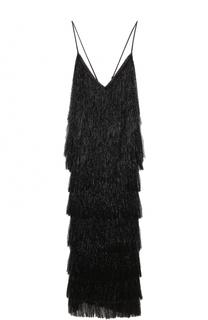 Платье-миди с декоративной отделкой Walk of Shame