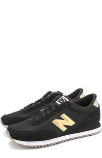 Замшевые кроссовки 501 с сетчатой вставкой New Balance