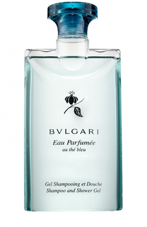 Шампунь и гель для душа Au The Bleu BVLGARI