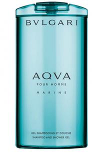 Шампунь и гель для душа Aqva Marine BVLGARI