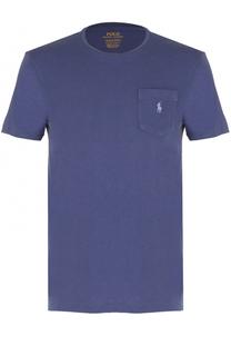 Хлопковая футболка с круглым вырезом Polo Ralph Lauren