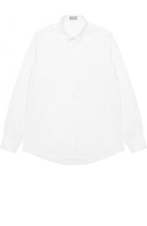 Хлопковая рубашка прямого кроя Il Gufo
