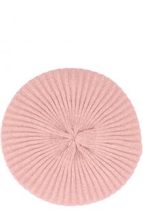 Вязаный берет из кашемира с декором Inverni