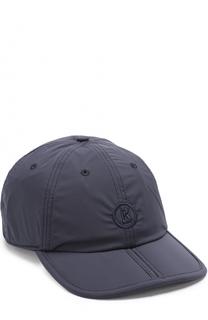 Текстильная бейсболка с логотипом бренда Bogner