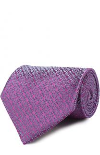 Шелковый галстук с узором Charvet