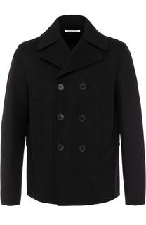Укороченной пальто из смеси шерсти и кашемира Valentino