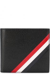 Кожаное портмоне с отделениями для кредитных карт Thom Browne