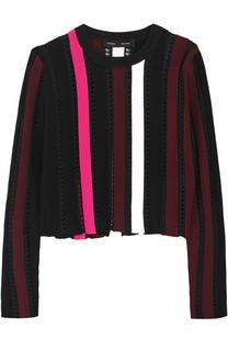 Вязаный пуловер с декоративной отделкой Proenza Schouler