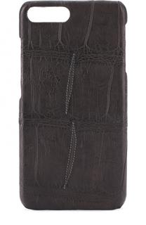 Чехол для IPhone 7 Plus из кожи аллигатора Isaac Sellam