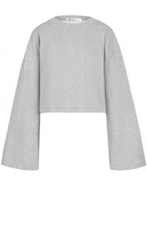 Укороченный свитер с декоративной отделкой T by Alexander Wang