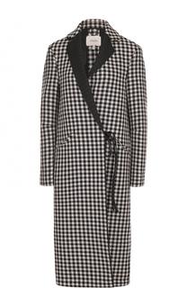 Пальто прямого кроя с запахом Dorothee Schumacher