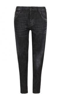Укороченные джинсы-скинни Dsquared2