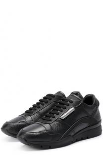 Кожаные кроссовки 551 на шнуровке Dsquared2