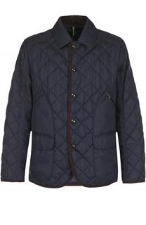 Стеганая куртка на кнопках с отложным воротником Bogner