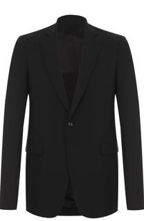 Шерстяной однобортный пиджак Rick Owens