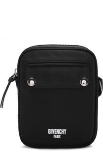 Текстильная сумка-планшет с логотипом бренда Givenchy
