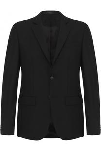 Шерстяной однобортный пиджак Givenchy