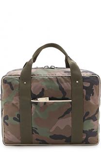 Текстильная дорожная сумка с плечевым ремнем Valentino