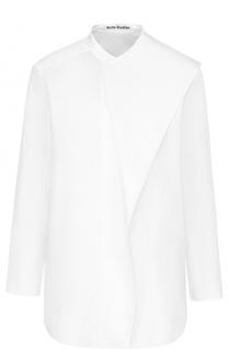 Блуза прямого кроя с оборками Acne Studios